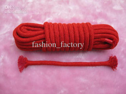 Wholesale Sex product Cotton rope bound bondage BDSM game Metter Rope sex toys S009 pbs