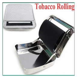 Wholesale Automatic Tobacco Roller Box Cigarette Roll Rolling Machine Stainless Steel Case