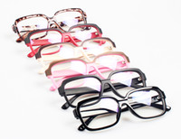 Wholesale Glasses Shop Fashion Optical Frame Retro Glasses Frames Clear Lens Radiation Protection Computer Glasses Free Shipment