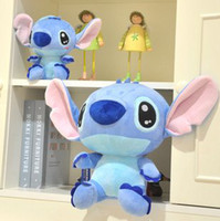 Teddy Bear White Stuffed & Plush Super cute hot sale plush toy doll mini Stitch interstellar stuffed toy baby loves most 30cm 1pc