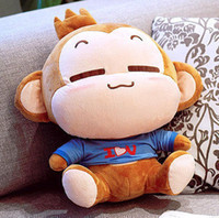 Teddy Bear White  Free shipping wholesaler hot sell Christmas gift lovely YOCI MONKEY soft stuffed plush animal doll toys cute cushion pillow