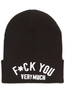 Wool Man Stars Fashion 2013 new brand Petals and letter peacocks fuck you beanies for men cap women hats