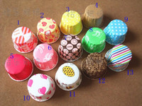 Wholesale bakeware cupcake cake baking cups paper dessert cup Muffin cup cake food greaseproof paper tray