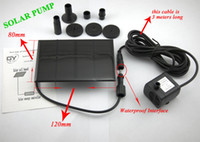 Wholesale SOLAR PUMP Water Pump Garden Plants Watering Kit Solar Power Fountain Soar Pump Water Pump