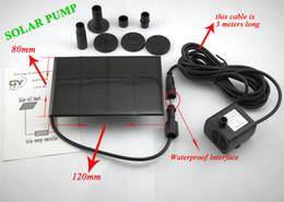 BOMBA SOLAR Bomba de Agua, Plantas de Jardín, Riego Kit de Energía Solar la Fuente de Soar de la Bomba/Bomba de Agua, gastos de envío gratis