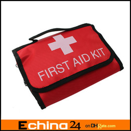 Wholesale L size Emergency First Aid Kit Bag Red Medicine Bag Outdoor Camping First Aid Bag