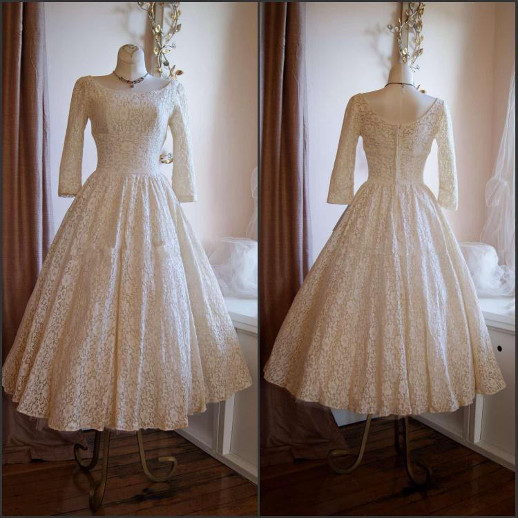 Vintage Style Wedding Dresses Los Angeles - Overlay Wedding Dresses
