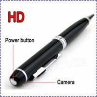 Wholesale HK POST HD Spy Camera P Digital Pen Hidden Camera Mini Video Recorder DVR Camcorder DV Hot Sale