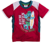 Cheap Round Neck baby boys shirts Best Boy Summer short sleeves shirts