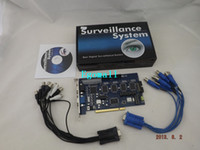 Wholesale GV GeoVision DVR Card GV800 channel fps v8 Surveillance Systems S241