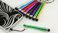 Capacitive screen stylus touch screen pen with clip for ipho...