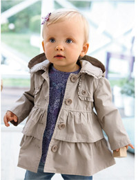 Wholesale HOT new Best selling Arrival winter baby children kids jacket coat western style bistratal girl jacket children windbreak wind coat