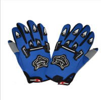 Wholesale Outdoor Windproof Full Finger Cycling Gloves Motorcycle bike glove windbreak protection glove
