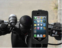 Wholesale Bike Bicycle Mount Holder Stand Tough Case Waterproof Cover for Appel iphone