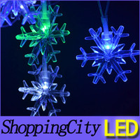 good quanlity 220V snowflake led string flash Christmas part...