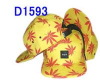 Blue Ball Cap  Hot sell men hip hop fashion snapback caps HUF mens popular hats cheap snapbacks huf cap leaf free shipping
