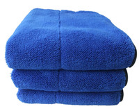 Wholesale Sunland pc High Quality GSM Thick Plush Microfiber Towel inch x inch Car Cleaning Dusting Cloth Drying Buffing Polishing Towel