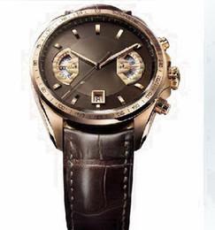 Wholesale Brown belt Luxury Fashion Wristwatche men watch sports Rose gold case Automatic Stainless steel Men s Watches