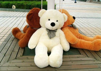 Wholesale Plush Doll Toys Boyds Teddy Bears Christmas Toys cm m meter Giant Teddy Bear Lovers Big Embrace Bear Stuffed Animals Birthday Gift