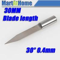 Wholesale mm Carbide Extra Long CNC Engraving V Bits CNC Router Cutting Tool Deg mm SM561 CF