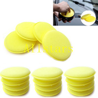 Wholesale Waxing Polish Wax Foam Sponge Applicator Pads For Clean Car Vehicle Glass SH