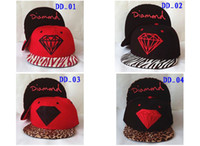 Wholesale Diamond Snapback Hats Top Quality Sports Hats Caps Adjustable Snapback hats For Man And Women Ball Caps Can Mix Order Free Ship