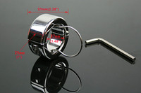 other other  2013 100% the same with photo 100%real stainless steel ball stretcher Chastity Male adult sex toys A086