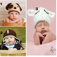 Boy Summer Cotton Free doomagic Baby Crochet Hats Newborn Bonnet Skullies Beanies Boys Knitted hats beanie Berets Bucket Hats Handmade caps D126