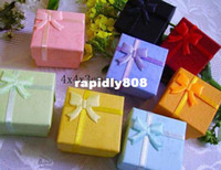 Wholesale Fashion Jewelry Paper Box ring Box Ring Case Jewelry Rings Paper Boxes Gift Package Box