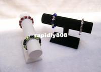 Bracelet de barre de cheville d'affichage à quartz de montre d'affichage de bijouterie de bracelet de barre de barre de T d'ensemble de 2 écrans de bijoux de Silvel