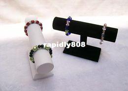 Bracelet de barre de cheville d'affichage à quartz de montre d'affichage de bijouterie de bracelet de barre de barre de T d'ensemble de 2 écrans de bijoux de Silvel à partir de barres autoportantes fabricateur