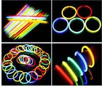 glow in dark products - Neon flash stick glow luminous flash stick light up toy product glow in the dark