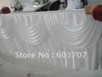 Wholesale 10ft quot Table Skirting With Velcro Table Cloth Best Quality