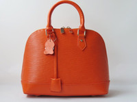 Wholesale on sale genuine leather woman shell handbag MBL1314