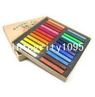 Wholesale Montgomery colored chalk pastel stick color vermicelli color Marley color chalk powder brush hair chalk