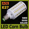 SMD 5050 12W LED Corn Light Bulb 1080LM 110V 240V Warm White White E27 (E14 B22) 60 leds Energy Saving Lamp 360 Angle