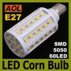 High Quality 12W E27 60 LED 5050 SMD 1080LM LED Corn Bulb White, Warm White 110-220V Corn Light Bulb LED Energy Saving Lamp