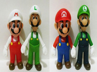 Wholesale styles cm Super Mario Bros Luigi Mario Action Figures Toys Doll