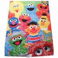 100% Cotton other other kindergarten baby quilt cotton ELMO cartoon design 110*145cm cartoon quilt, freeshipping