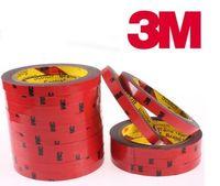 al por mayor acrylic tape-3M Auto Acrylic Foam doble cara adhesivo Cinta 6mm