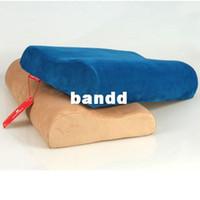 best body pillow - memory foam pillow healthy wave neck support body pillow Colorful massage sleep pillow Sleeping Cheap best pillows