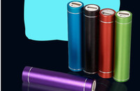Wholesale 2600mah Portable power bank external battery charger for Samsung S4 s3 Iphone s HTC mobiles all mobiles Colors Mixed