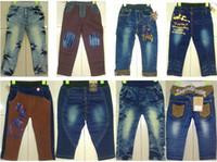 Winter childrens wear - Top Brand Kids Denim Jeans Girls Boys Top Fashion Jeans Denim Pants Childrens Denim Trousers Autumn Wear Long Pants Cotton Denim Trousers