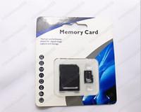 220 PC Tarjeta de memoria micro de la clase 10 SD TF de DHL 64GB con el adaptador del GK Tarjetas Flash SD SDHC del paquete al por menor