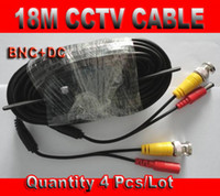 Wholesale CCTV Cable m m with BNC Video DC Power Connector Coaxial Cable for CCTV Security Camera System a