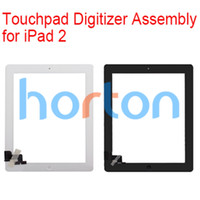 Wholesale Touch Screen Glass Digitizer Assembly for iPad with Home Button amp M Adhesive Glue Sticker Replacement Repair Parts AF570