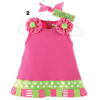 Wholesale Doomagic Baby Dress Christmas baby s Dresses Babywear X mas newborn Jumper Dress Baby Clothes Girl s Gown Ball Tank Tops D139