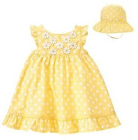 Summer Sleeveless Pleated 2013 Baby Dress baby's Dresses Sun Hats Bonnets Babywear Newborn Caps Jumper Dress Baby Clothes Girl's Tank Tops Blouse D142