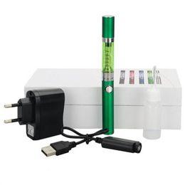 Luces individuales con pilas en Línea-2.4ohm 650mAh batería con luz LED 2.4ml solo algodón Wick Atomizer Ke ir Cigarrillo electrónico