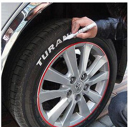 Wholesale Permanent Waterproof Car Tyre Tire Metal Paint Marking Pen Marker Motor Bike